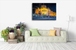 Flinders Station Melbourne Wall Art Print on the wall