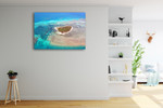 Green Island Cairns Australia Wall Art Print on the wall