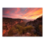 Katoomba Sunset Wall Art Print