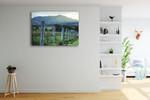 Kooroomba Queensland Vineyard Wall Print on the wall