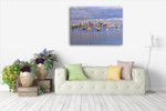 Melbourne Seascape Wall Art Print on the wall