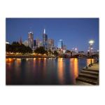 Melbourne Southbank Australia Wall Print