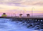 Melbourne St Kilda Pier Wall Art Print