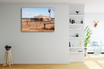 Queensland Old Farm House Wall Art Print on the wall