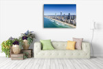 Queensland Surfers Paradise Wall Art Print on the wall