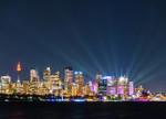 Sydney at Night Wall Art Print