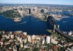Sydney City Aerial View Wall Print