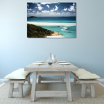 Whitehaven Beach Queensland Wall Print on the wall