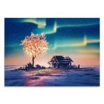 Fantasy Tree Lights Wall Art Print