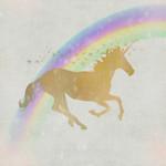 Whimsical Unicorn I Wall Art Print