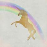 Whimsical Unicorn II Wall Art Print