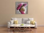 Lady Elegant Beauty I Wall Art Print on the wall