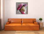 Lady Elegant Beauty I Wall Art Print on the wall