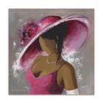 Lady Elegant Beauty II Wall Art Print