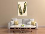Shoe Fits I Wall Art Print on the wall