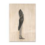 Standing Headless Man Wall Art Print