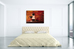 The Decadent and Refined Wall Art Print on the wall