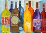 Vive La Bourgogne Wall Art Print