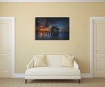 Seawater Home Wall Art Print on the wall