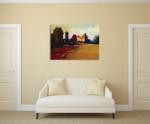 The Home Paddock Wall Art Print on the wall