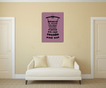 Beauty Inside and Out Wall Art Print on the wall