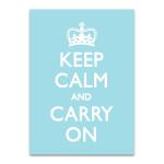 Keep Calm Wall Art Print