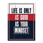 Life Mindset Wall Art Print