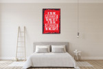 Persistent and Consistent Wall Art Print on the wall