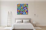 Butterflies Colour Wall Art Print on the wall