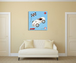 Grand Prix I Wall Art Print on the wall