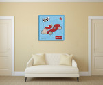 Grand Prix II Wall Art Print on the wall