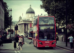 Double Decker Bus London Wall Print