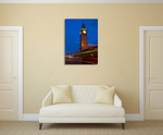 The Big Ben Wall Art Print on the wall
