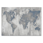 Map of the World V4 Wall Print