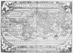 Vintage World Map Wall Art Print