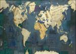 World Map Wall Art Print
