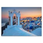 Island of Santorini Greece Wall Print