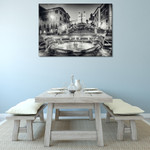 Rome Italy Spanish Steps Wall Print on the wall