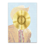 Country Western Guy Wall Print