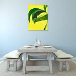 Banana Leaf I Wall Art Print on the wall