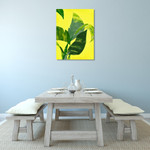 Banana Leaf II Wall Art Print on the wall