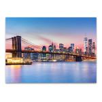 Manhattan Skyline Wall Art Print