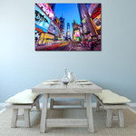 New York Times Square Wall Print on the wall