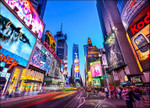 New York Times Square Wall Print