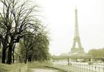 River Seine Eiffel Tower Wall Print