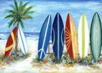 Surf's Up Wall Art Print