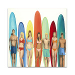 Surfing Sports Wall Print