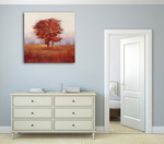 Autumn Morning I Wall Art Print on the wall