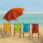 Four Summer I Wall Art Print