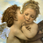 Angels and Cupids Wall Art Print